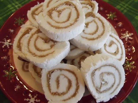 Peanut Butter Pinwheels Candy - The Hillbilly Kitchen