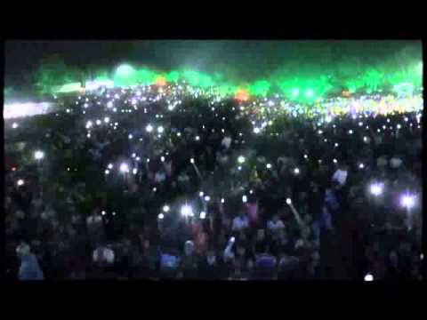 Ellelu Neene Saakhi by Raghu Dixit Song Live in Concert at Dharwad Utsav 2013 Dec15
