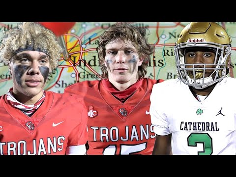 THRILLER!! #1 Center Grove, IN (8-0) vs #2 Cathedral, IN (8-0) |Nationally Ranked |GAME OF THE YEAR!