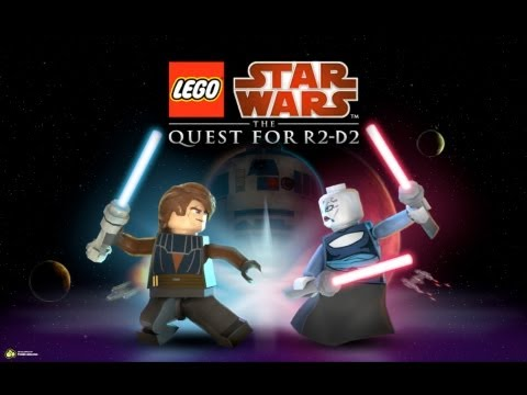 Lego star wars the quest for r2 d2 episode 2 39 39 the force is with you 39 39 youtube - Lego starwars r2d2 ...