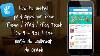 [NEW] Tongbu iOS 9 - 9.2.1/9.3.1 Install Paid Apps For Free iPhone / iPad / iPod T NO JAILBREAK