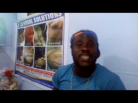 Ghana movie s. Ras Nene speak about herbal medicine