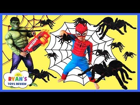 Spiderman Superhero Prank The Hulk Funny Superheroes IRL In Real Life Movie