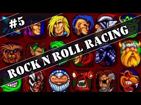 Прохождение Sega Rock n Roll Racing #5 Гонки с зеками