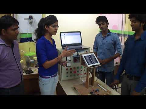 Generation of Electricity Using PLC, SCADA & Solar Plate | Summer Training Project | Goeduhub
