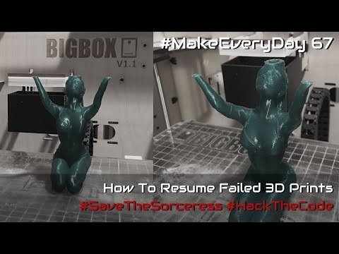 How to Resume a Failed 3D Print- Modifying G-Code to Avoid Starting Over Mp3