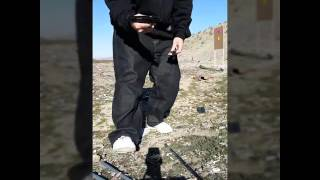 Target shooting & 3x5 card drills w/Walther P22
