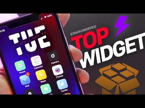 iOS 11 Jailbreak Tweaks: TOP Best Widget on Homescreen!! (Tweak of the Day)