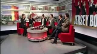 Ryan Molloy & fellow Jersey Boys London on BBC Breakfast 17th March 2009