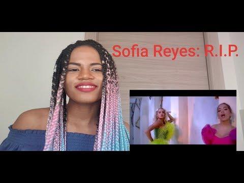 Sofia Reyes ft Anitta Rita Ora - RIP REACTION- REACCIÓN