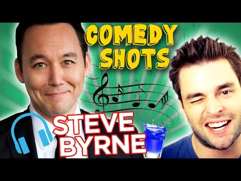 Steve Byrne: What Does Your Music Taste Say About You? Ft. Chris Thompson - Comedy Shots #51