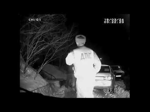 Видео нападения на полицейского в Мончегорске