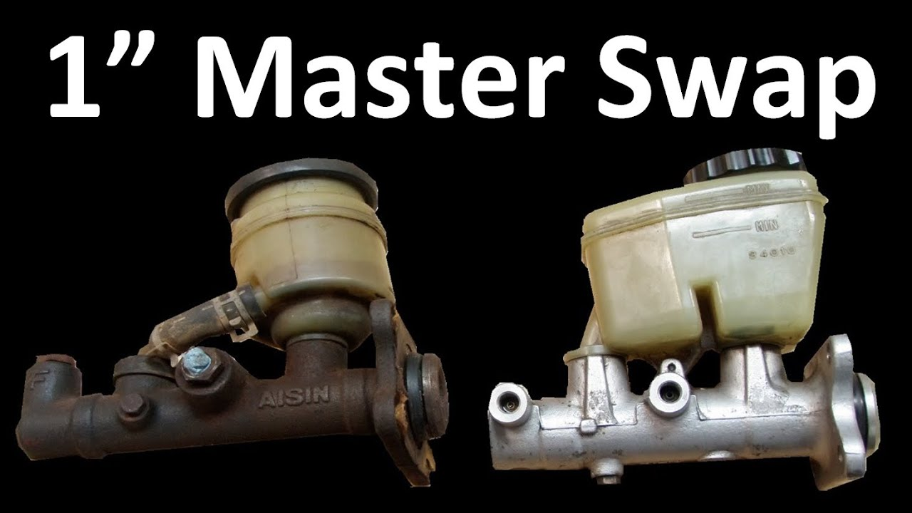 Toyota 4x4 Brake Master Cylinder Swap 1316