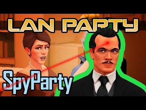 SpyParty - James Bond Jr - LAN Party