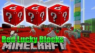 Red Lucky Blocks - Minecraft Mod