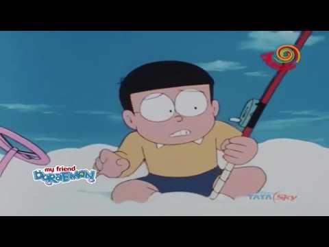 Doraemon In Hindi - Cloud Fishing Set