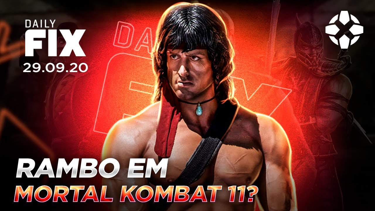 RAMBO EM MORTAL KOMBAR 11? GAMES DE OUTUBRO NA XBOX GAMES WITH GOLD - Daily Fix
