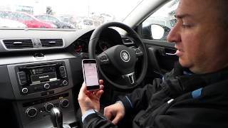 How To: Pair Bluetooth Phone (RNS315 Navigation Unit)