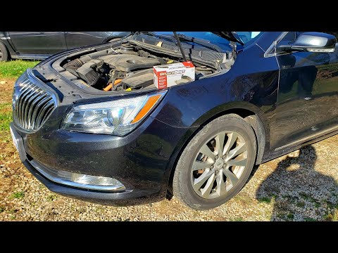 2010-2016 Buick Lacrosse Front Brake Pads & Rotors How to Replace