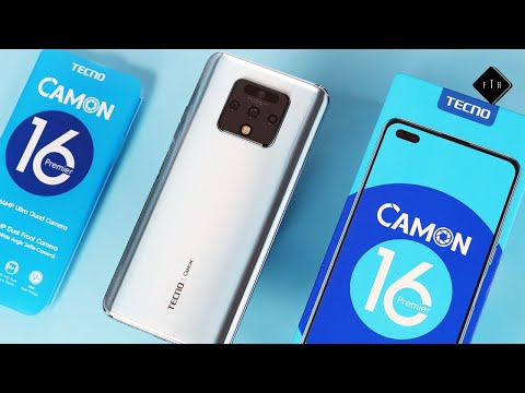 Tecno Camon 16 Premier Unboxing and Initial impression.