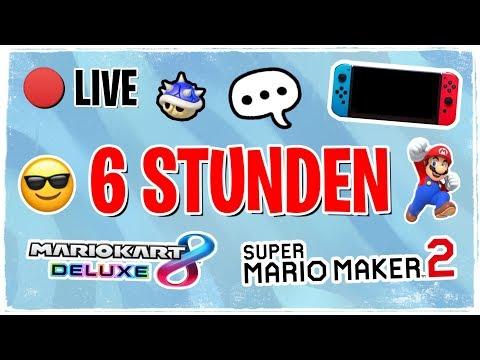 🔴 6 Stunden-Stream! 🥳 Gaming (MK8D, SMM2, ...) 🎮 | Miekahr