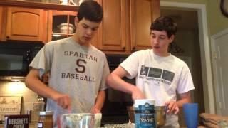 How To Make Sea Salt Caramel Brownies Part 1