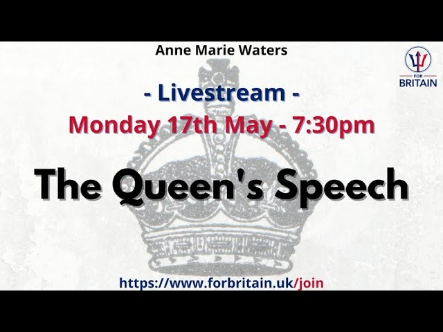 For Britain Live: 17th May 2021 at 19.30 GMT