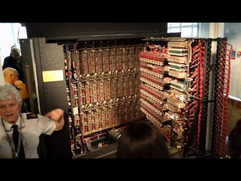 A working replica of the Bombe