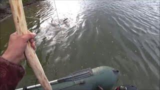 Рыбалка на паук  подъёмник, опускаем паук на 8 метров.СРАБОТАЕТ?Щука порвала Окуня в ПАУКЕ.Бонус