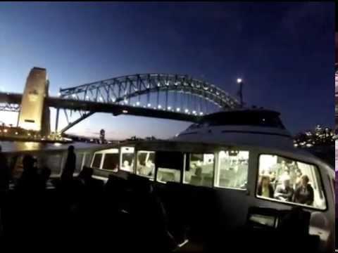 Ferry trip around Sydney Harbour