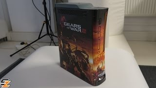 Gears of War 2 Limited Edition Xbox 360 Console Unboxing!