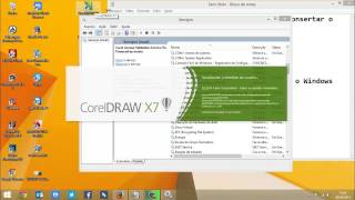 Corrigindo ERRO 38 do Corel Draw x6 ou x7 no Windows 7, 8, 8.1 ou 10 x64 ou x86 bits