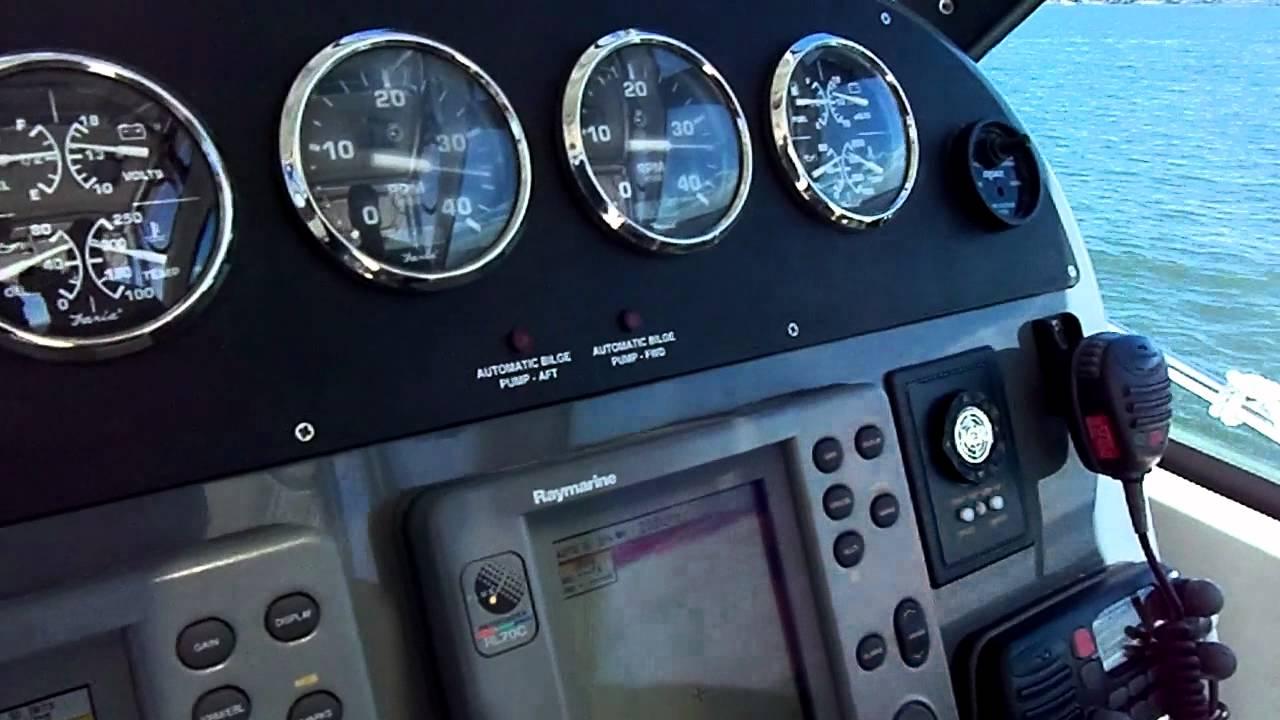 2004 Pursuit 31 Offshore Express Yanmar 6LPA-STP 315 hp 35 MPH