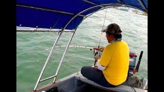 Port Dickson: Pancing ikan Bulus & Daun Baru sebelum ribut!