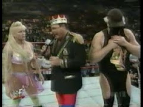 The Artist Formerly Known As Goldust & Luna, In-Ring Promo W/ Jerry Lawler (03 21 1998 WWF Shotgun)