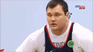 Aleksei Lovchev at World Weightlifting Championships 2013 - 2015