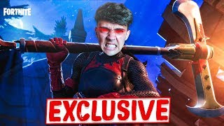 RETURN THE EXCLUSIVE SKIN *RED DAMA* TO FORTNITE: Battle Royale!! - Agustin51