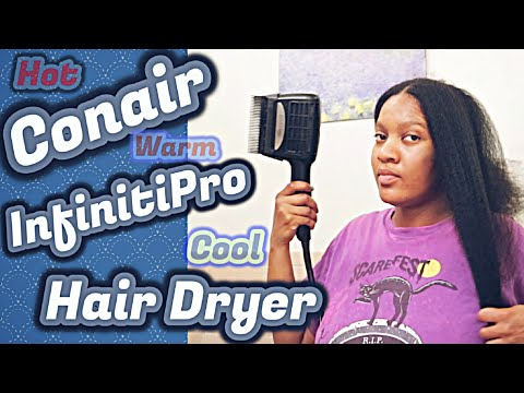 Hair Dryer 🔥 Review: Conair InfinitiPro 3-in-1 💨