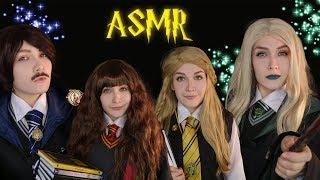 АСМР Поступление в Хогвартс ASMR Enrollment to Hogwarts RolePlay. Построить Выкройку Женских Трусов