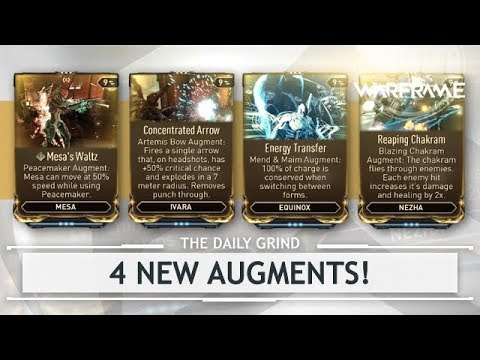 Warframe: NEW Augments for Ivara, Nezha, Equinox & Mesa - First Look Playtest