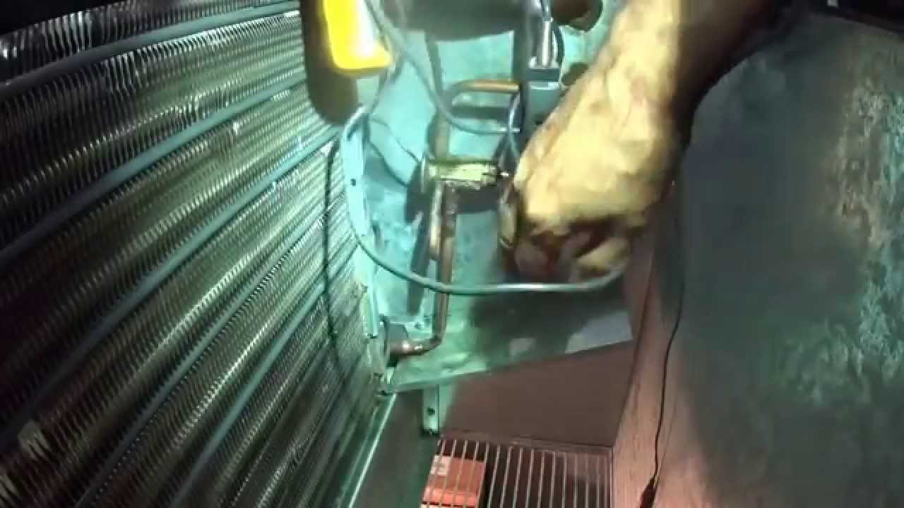 Make A Difficult Adjustment On A Freezer Expansion Valve