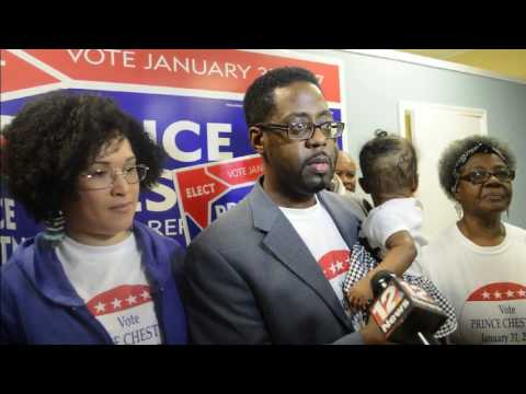 PRINCE CHESTNUT WINS SPECIAL ELECTION BY 68%