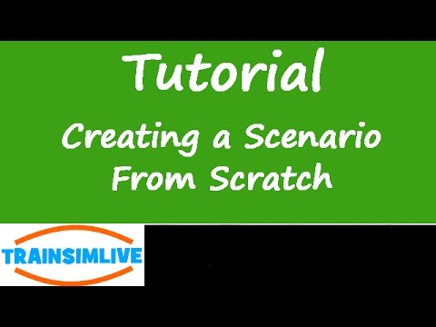 Train Simulator - How to make a Scenario from Scratch