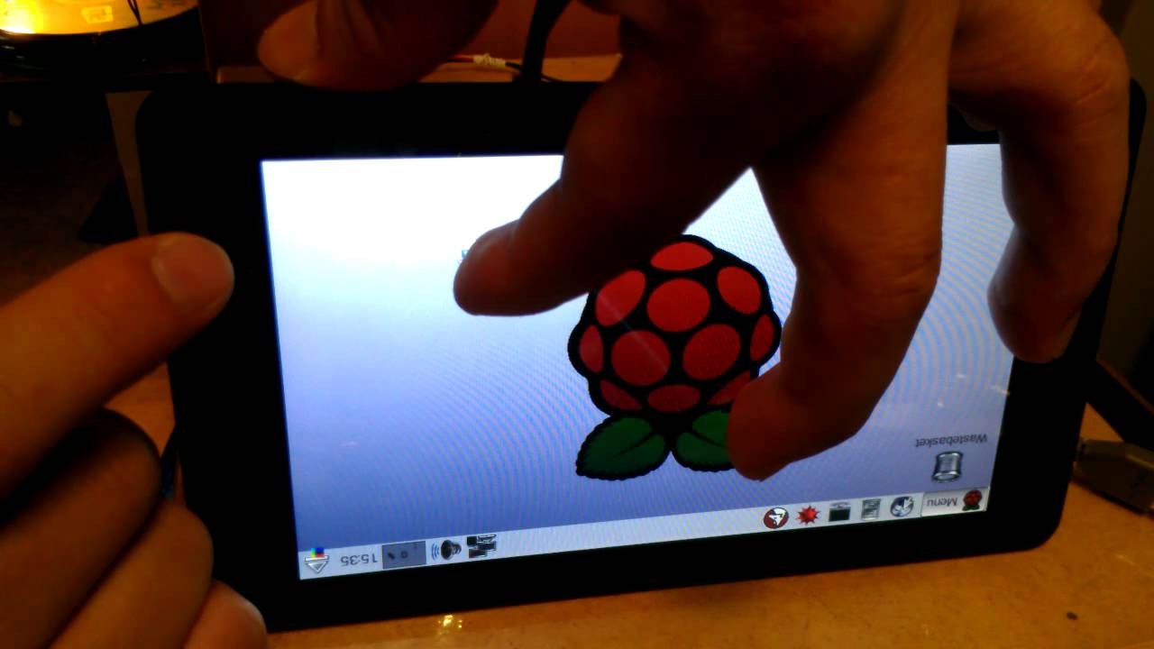 Raspberry Pi 7 Inch TouchScreen Display - Part 3 Software/Testing
