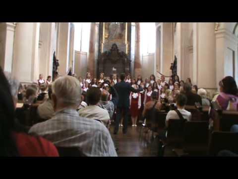 Joint concert Jitro Choir at St Nicholas Church in Prague