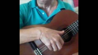 d (bass) adgbe acoustic guitar tuning with perfect, perfect pitch