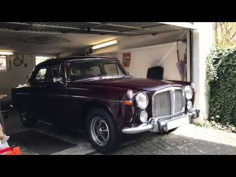 1968 Rover P5b V8 - 1st Start-up After Winter Break