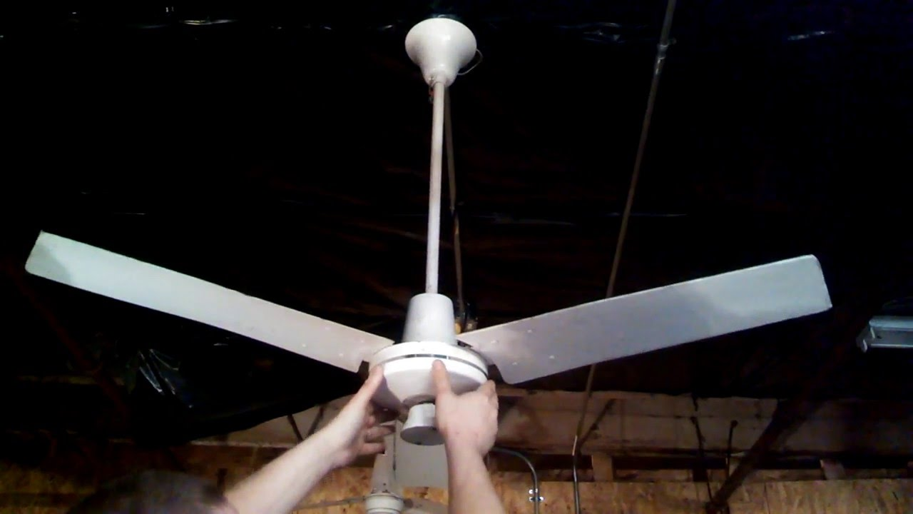 Dayton 3c690 3 speed commercial ceiling fan 48 youtube dayton 3c690 3 speed commercial ceiling fan 48 aloadofball Images
