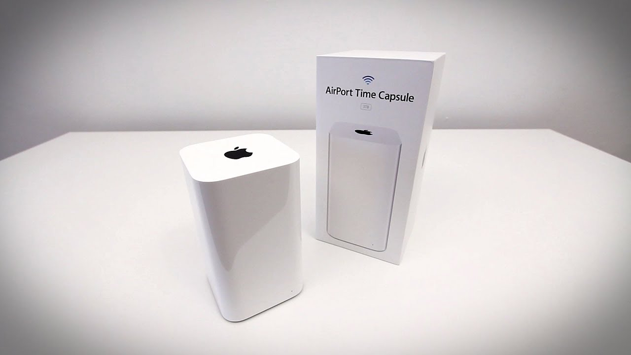 Apple Airport Time Capsule Unboxing & Overview (3TB Time ...