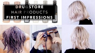 DRUGSTORE HAIR PRODUCTS First Impressions   Milabu